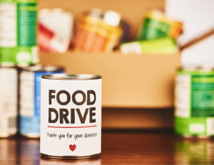 With local food drives, anyone can help and all can benefit.